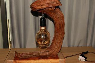 Lamp driftwood oak