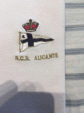 Polo REAL CLUB REGATAS ALICANTE ( XL ).-