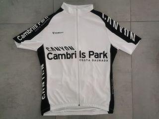 Maillot ciclismo manga corta talla M