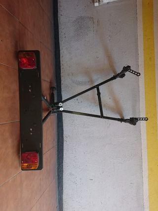 soporte portabicicletas bola de coche