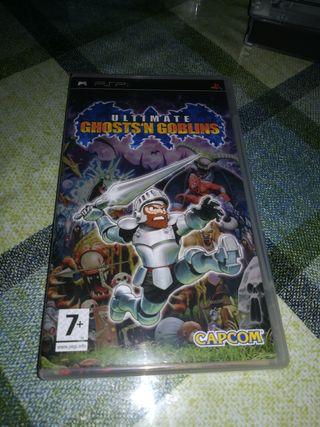 Ultimate Ghost n goblins Pal PSP