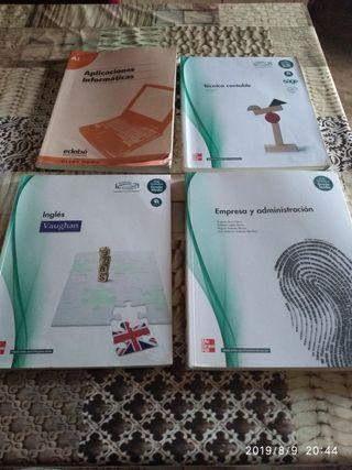 Libros de primer curso grado medio administrativo