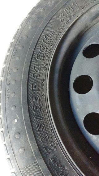 pack 4 neumáticos i llantas Ford focus