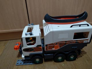 playmobil camion safari