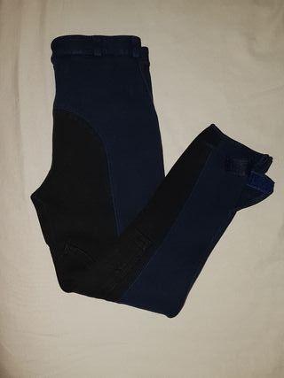 Pantalones de hípica Zaldi talla 14 (niño/a)