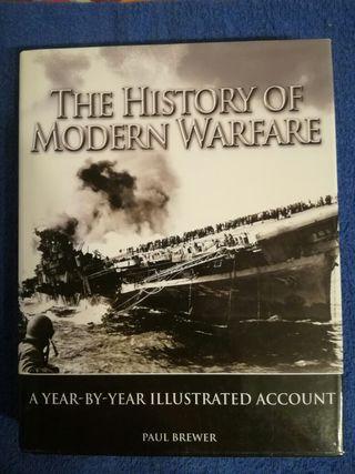 Libro sobre la Historia de la Guerra Moderna.