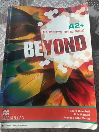 Libro Inglés Beyond A2