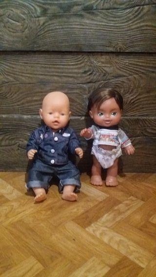Lote Muñecos Bebes