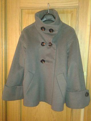 Marino Azul Mujer Chaqueta Abrigo Talla Zara Negro XXL