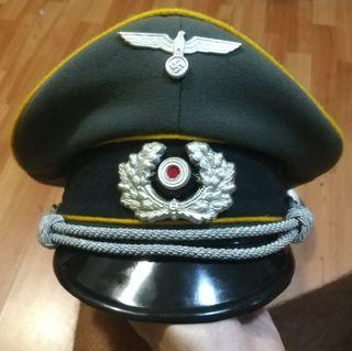 gorra de oficial de la Wehrmacht de caballería