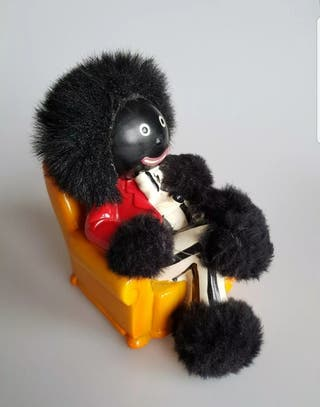 vintage golliwog doll money babk