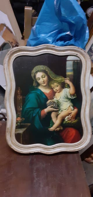 cuadro antiguo religioso