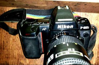 Cuerpo Cámara reflex Nikon F180 (Más de 80 artículos en mí perfil