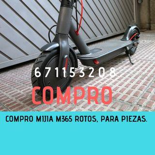 Mijia M365 para piezas, roto, reparar