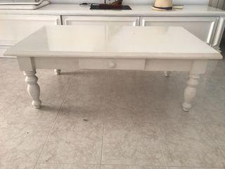 Mesa grande café para manitas