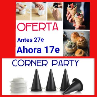 Cornet party tupperware