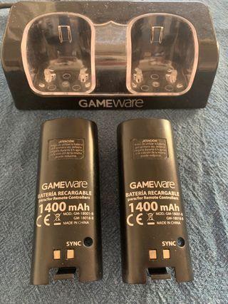 2 baterías para mando Wii
