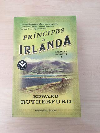 Libro Principes de Irlanda. Edward Rutherford
