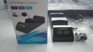 Base de carga de mandos PS4