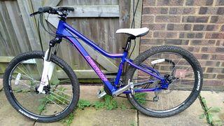 Female mountain bike