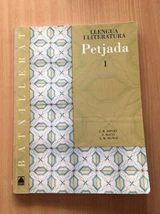 Libro primero de bachillerato de catalán