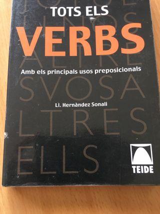 Libro TOTS ELS VERBS