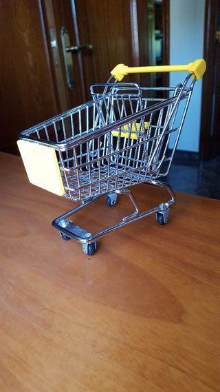 Miniatura de carro de la compra