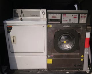 lavadora y secadora industriales