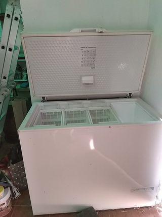 arcón. frigorífico y congelador