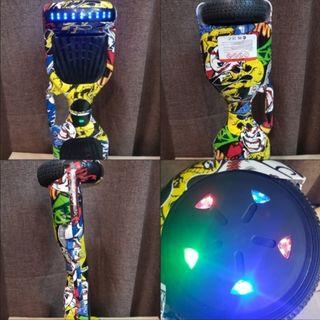 Patinete hoverboard con kart board incluido