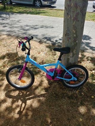 bicicleta niña zona de Riaza(Segovia) y madrid
