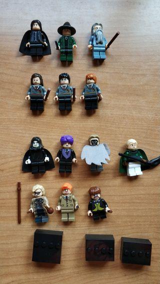 16 figuras de Harry Potter.