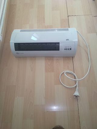 Calefactor lavabo aire frío/calor