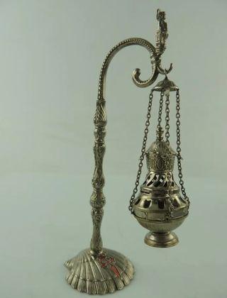 Botafumeiro vintage, decoración religiosa
