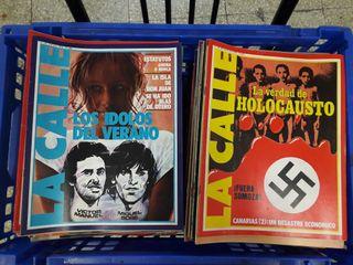 Revista LA CALLE años 1978 a 1981