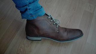 Zapato marrón hombre. Talla 41. H&M