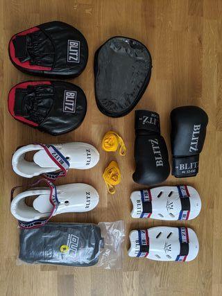 Boxing and Kick Boxing Equipment