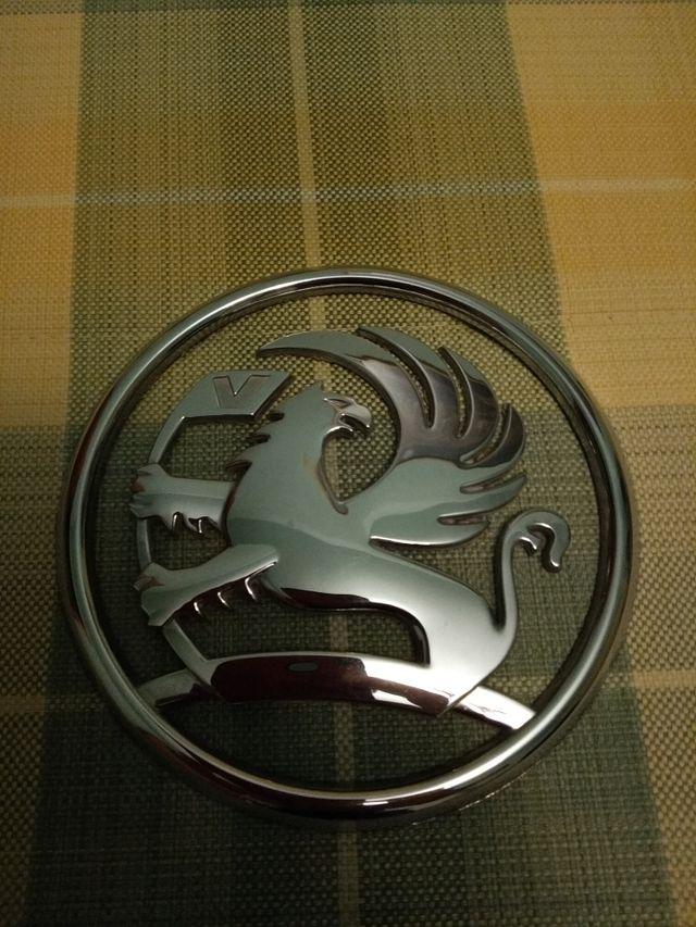 Emblema Vauxhall 12 centímetros de diámetro