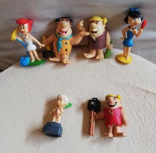 """Figuras PVC """"Los Picapiedra"""""""