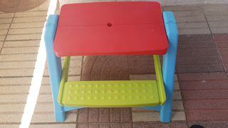mesa picnic-camping niños