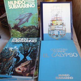 Enciclopedia Mundo Submarino, de Jaques Costeau.