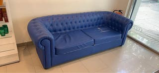 Sofa chester azul