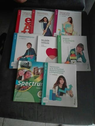 libros de texto 2eso,
