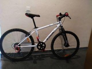 Bicicleta Btwin Rockrider 300 junior. 9-13 años