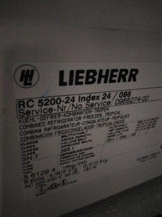 recambios frigorifico liebherr