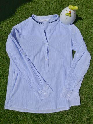Blusa camisa manga larga Sfera talla S NUEVA