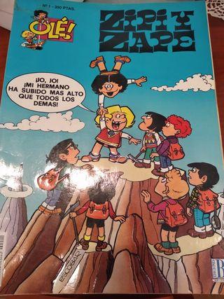 Lote comics Zipi y Zape y Mortadelo y Filemón