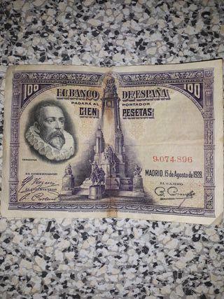vendo billete antiguo año 1928