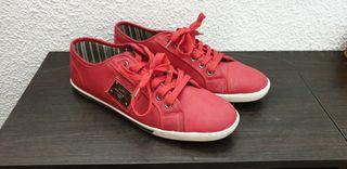 Zapatillas rojas talla 43