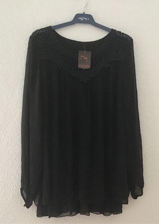 Blusa negra nueva